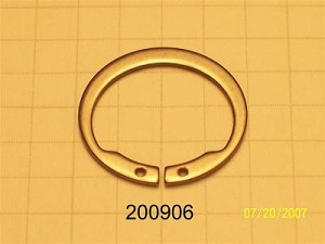 Snap ring (port adaptor)